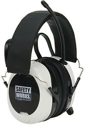 Safety Works Swx00260 Bluetooth Digital Amfm Hearing Earmuff Protector
