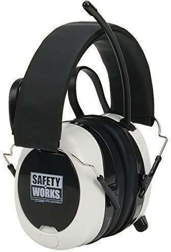 Safety Works SWX00260 Bluetooth Digital AM/FM Hearing Earmuff Protector