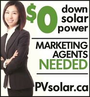 Wanted:  Solar Power Agents to market 100% financed solar power
