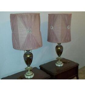2 lampes antique, des années 20 ou 30