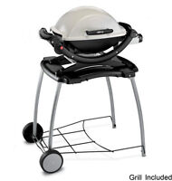Weber BBQ Grill and rolling carrier (NEW)
