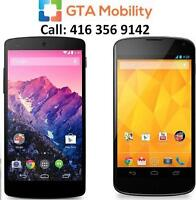 WE PAY CASH ON THE SPOT FOR LG NEXUS 4 AND NEXUS 5
