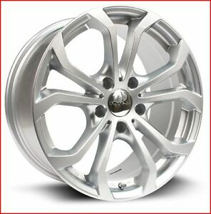 Roues (Mags) 4 saisons  RTX OE Bergen argent 16'' 5-120 (BMW)