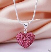 Silver Shamballa Necklace