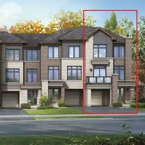 Assignment Sale- 4 level Freehold Townhouse, END unit, Newmarket