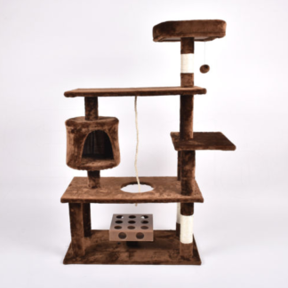 large brown CAT TREE brand new