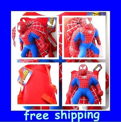 NEW Plush Spider-man spiderman doll Backpack bag free shipping on Rummage