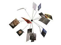 Satellite Shape - Photo Ball Clip Holders for 16 Photos