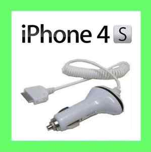 In Car Chargers For Apple iPhone 4S 4G 3GS iTouch iPod Nano Fift