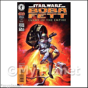 BOBA FETT ENEMY OF THE EMPIRE #1 STAR WARS DARK HORSE COMICS 1999 RARE MINT NEW