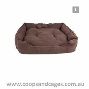 27% OFF! Quality Faux Suede Dog Bed (Large) - FREE SHIPPING! Carlton Melbourne City Preview