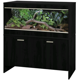 Vivexotic AAL Vivarium & Cabinet - Bearded Dragon Black.