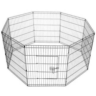 FREE SHIPPING - DOG WIRE PEN – 8 PANELS (MEDIUM) Fortitude Valley Brisbane North East Preview