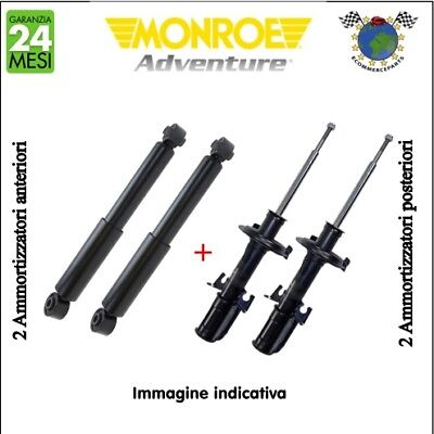 Kit ammortizzatori ant+post Monroe ADVENTURE JEEP GRAND CHEROKEE I