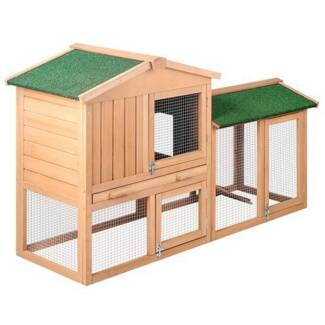 FREE SHIPPIN - DOUBLE STOREY CHICKEN COOP WITH RAMP (MEDIUM)... Carlton Melbourne City Preview
