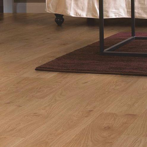Quick Step Andante White Oak Effect Laminate Flooring 1 72 M² 6 Packs Of 8