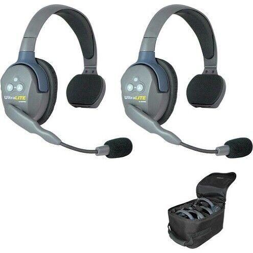 Eartec UL2S UltraLITE Full Duplex Wireless Headset Communication for 2 Users
