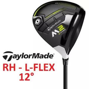 NEW* TAYLORMADE M2 GOLF DRIVER RH 250723666 D-TYPE RIGHT HAND 12 DEGREE L-FLEX GOLF CLUB