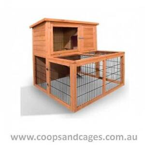 Cheap Double Storey CHICKEN COOP with RUN (medium) Free Shipping! Carlton Melbourne City Preview