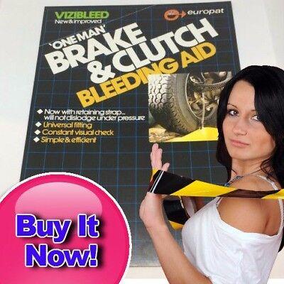 Motorcycle Brake & Clutch Bleeding Tool/kit NV16 Vizibleed Get 1st Class Post