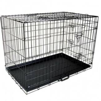 FREE SHIPPING - RECTANGLE DOG CAGE (EXTRA LARGE) Carlton Melbourne City Preview