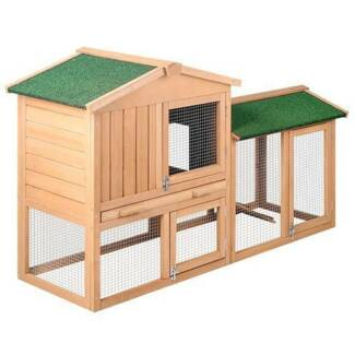 FREE SHIPPING - DOUBLE STOREY CHICKEN COOP WITH RAMP (MEDIUM)... Fortitude Valley Brisbane North East Preview