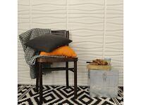 3D Wall Art Decorative Panels 3m sq box of 12 - Feature Wall