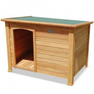 FREE SHIPPING - TIMBER DOG KENNEL (LARGE) Fortitude Valley Brisbane North East Preview