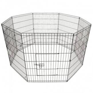 FREE SHIPPING - DOG WIRE PEN – 8 PANELS (LARGE) Carlton Melbourne City Preview
