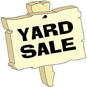 Yard Sale - Stratford - Sat. Sept. 24 8-12