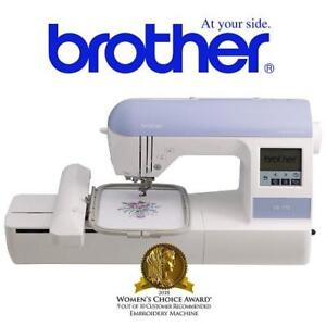 OB BROTHER EMBROIDERY MACHINE PE-770 200748875 WITH BUILT IN MEMORY SEWING
