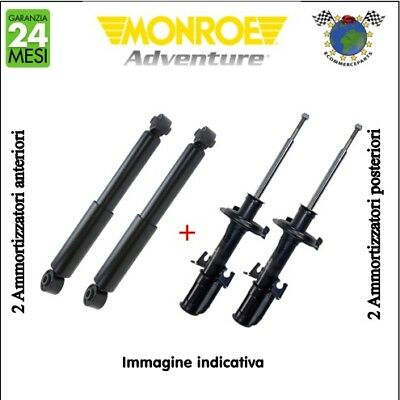 Kit ammortizzatori ant+post Monroe ADVENTURE JEEP GRAND CHEROKEE I #p