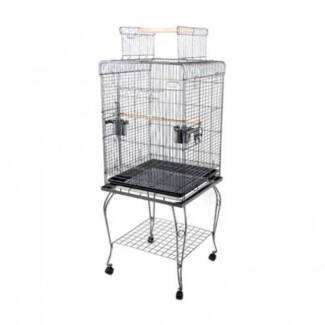 FREE SHIPPING - BIRD AVIARY WITH STAND (MEDIUM) Fortitude Valley Brisbane North East Preview