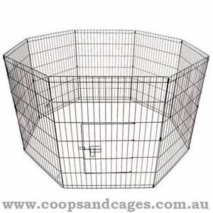 FREE SHIPPING! CHICKEN WIRE PEN – 8 PANELS (SMALL) Carlton Melbourne City Preview