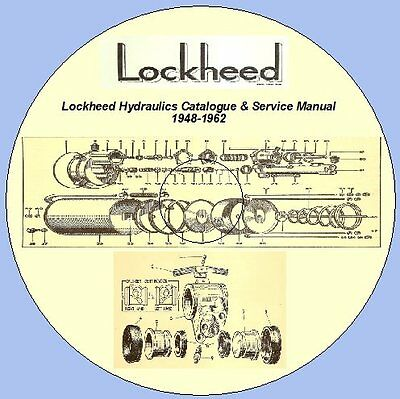 Lock heed Hydraulics Catalogue & Service Manual 1948-1962