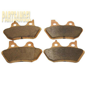 [Front + Rear] Performance Sintered Brake Pads for Harley Davidson 2 sets