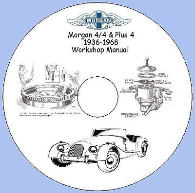 Morgan 4/4 & Plus 4 1936-1968 Workshop Manual