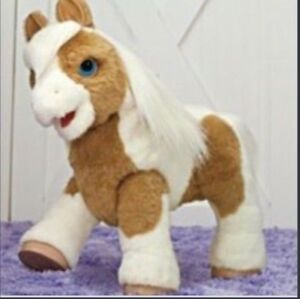 FUR REAL BABY PONY BUTERSCOTCH WORKING MAKES SOUNDS AND MOVES