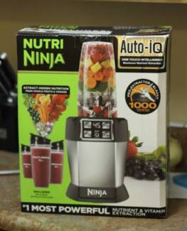Brand New Nutri Ninja IQ - Unwanted Gift - Blacktown Area Plumpton Blacktown Area Preview