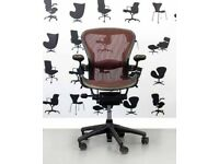 Herman Miller Aeron SIZE B FULLY LOADED - Brand NEW LUMBAR SUPPORT
