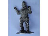 Dr Doctor Who ICE WARRIOR PEWTER Statue Figurine Danbury Mint World Of Doctor Who. Rare Collectible