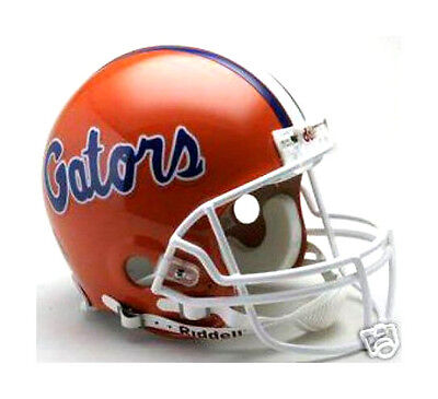 FLORIDA GATORS RIDDELL NCAA COLLEGE FOOTBALL AUTHENTIC PRO LINE FULL SIZE HELMET