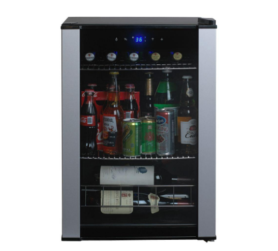 Wine Enthusiast Mini Fridge Refrigerator 4-Bottles or 90-Can