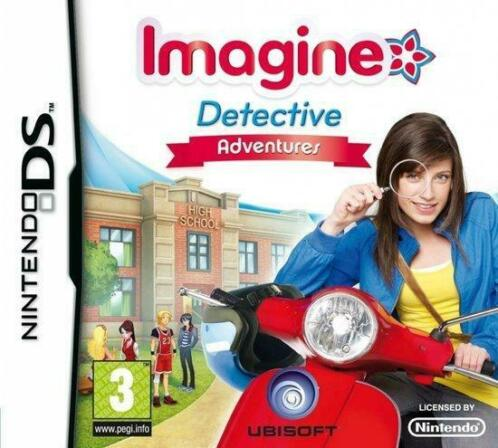 Imagine Detective Adventures (Nintendo DS tweedehands game)