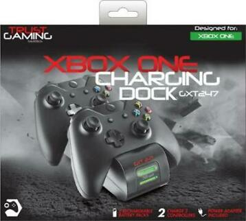SALE Trust GXT 247 - Duo Docking Station - Xbox One