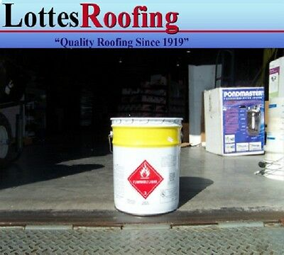 36- 5 Gal Solvent Epdm And Tpo Rubber Roofing Glue Bonding Adhesive