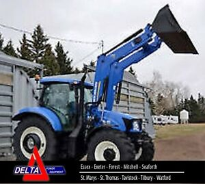 2014 New Holland T6.175 Tractor with Loader London Ontario image 1