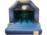 Rental of bouncy castles and hot tubes