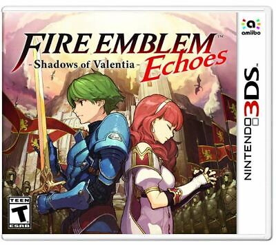 Fire Emblem Echoes: Shadows of Valentia Nintendo (Fire Emblem Echoes Shadows Of Valentia Nintendo 3ds)