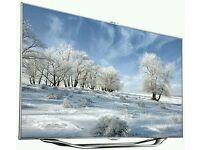 "Samsung 46"" LED smart 3D built HD freeview full Hd 1080p. UE46ES8000"